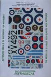 X48090 1/48 History of RAF 6 Sqn 1931-2010 decals (5)